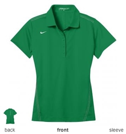 Nike Golf 452885 Womens Dri-FIT Sport Swoosh Pique Polo Shirts