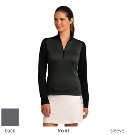 Nike Golf 578674 Womens Dri-FIT 1/2-Zip Cover-Up