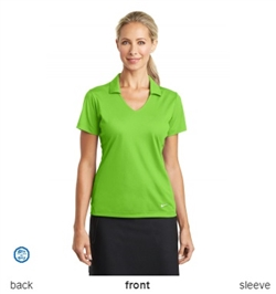 Nike Golf Ladies Dri-FIT Vertical Mesh Polo Shirts 637165