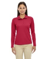 Ash City - Extreme Eperformance Ladies' Armour Snag Protection Long-Sleeve Polo Shirts 75111