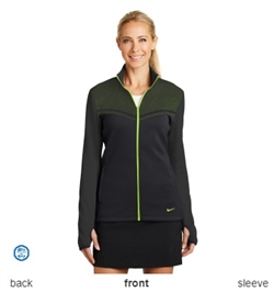 Nike Golf 779804 Ladies Therma-FIT Hypervis Full-Zip Jackets