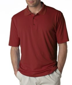 UltraClub Adult Cool-N-Dry Sport Polo Shirts 8405. Embroidery available. Quantity Discounts. Same Day Shipping available on Blanks. No Minimum Purchase Required.