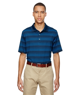 adidas Golf A123 puremotion® Textured Stripe Polo