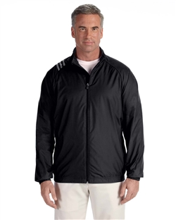 adidas Golf A169 Men's 3-Stripes Full-Zip Jacket