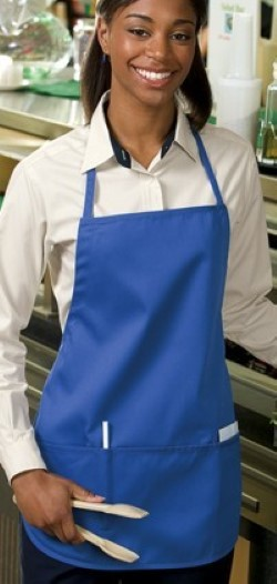 Port Authority Medium Length Aprons A525. Embroidery available. Same Day Shipping available on blanks. Quantity Discounts. No Minimum Purchase Required.