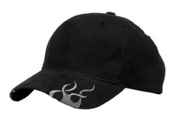 Port Authority Black with Grey Flames Racing Caps C857 . Embroidery available. Fast shipping on blanks. Volume Discounts. No minimum purchase.