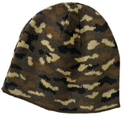 Port & Company Camo Beanie Caps CP91C. Embroidery available. Same Day Shipping available on blanks. Quantity Discounts. No Minimum Purchase Required.
