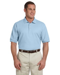 Devon & Jones Men's Pima Pique Short Sleeve Polo Shirts D100