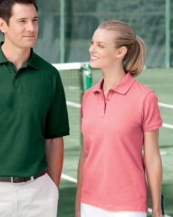 Devon & Jones DG105W Womens Dri-Fast Pique Polo Shirts