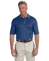 Devon & Jones DG210 Pima-Tech™ Men's Jet Pique Heather Polo Shirt