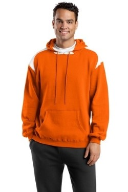 Sport-Tek Adult F264 Pullover Hooded Sweatshirt with Contrast Color