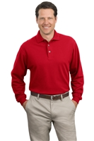 Port Authority Long Sleeve Pique Knit Sport Shirts K320