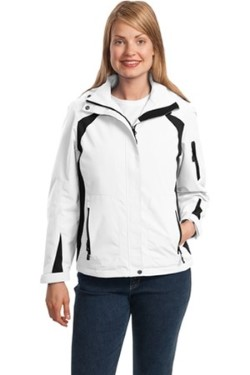 Port Authority L304 Ladies All-Season II Waterproof Jacket. Up to 25% Off. Free Shipping available.