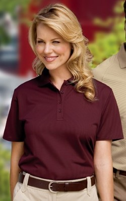 Port Authority Ladies Dry Zone™ Ottoman Sport Shirts L525. Embroidery available. Same Day Shipping available on blanks. Quantity Discounts. No Minimum Purchase Required.