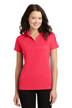 Port Authority L575 Ladies Crossover Raglan Polo Shirt