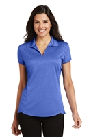 Port Authority L576 Ladies Trace Heather Polo Shirt