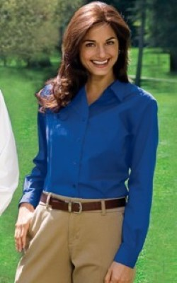 Port Authority Ladies Long Sleeve Easy Care Shirts L608. Embroidery available. Same Day Shipping available on blanks. Quantity Discounts. No Minimum Purchase Required.