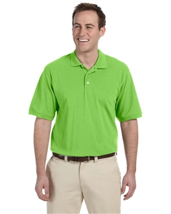 Harriton M265 Mens Easy Blend Pique Polo Shirts.