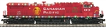 Canadian Pacific_CP_MTH AC 4400cw Diesel and 4 car set_20-21161-1_20-92237_3Rail