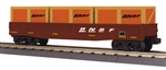 Burlington Northern Santa Fe_BNSF_MTH gondola with crates_30-72117_3Rail