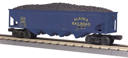 Alaska_MTH 4 Bay Open Hopper_30-75510_3Rail