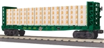 Chicago & North Western_C&NW_MTH Bulkhead Flatcar_30-76490_3Rail