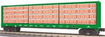 Burlington Northern_BN_MTH Center I-Beam Flatcar_30-76748_3Rail