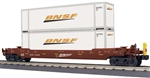 Burlington Northern Santa Fe_BNSF_MTH Husky Stack Flatcar_30-76757_3Rail