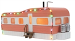 MTH Building_Mobile Home with LED Christmas lights_30-90579