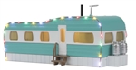 MTH Building_Mobile Home with LED Christmas lights_30-90612