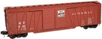 Western Pacific_WP_Atlas Trainman 50' Single Sheath Boxcar_2001518_3Rail