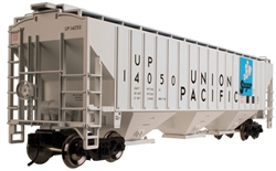 Union Pacific_UP_Atlas Trainman PS-4750 Covered Hopper_2001621_3Rail