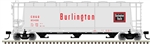 Burlington Route_CB&Q_Atlas 3 Bay Cylindrical Hopper_3001218_3Rail