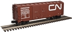 Canadian National_CN_Atlas 40' AAR Double Door Steel Boxcar_3001822_3Rail