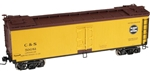 Colorado & Southern_C&S_Atlas 40' Woodside Reefer SHELL ONLY_8098