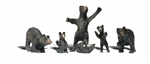 Woodland Scenics Figures_Black bears_A2737