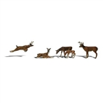 Woodland Scenics Figures_White Tail Deer_A2738