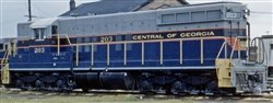 Central of Georgia_CofGa_Broadway Ltd SD-9 Diesel_CofGa_BWL_HO