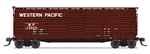 Western Pacific_WP_Broadway Limited K7 Cattle Stock Car_BLI5894_HO