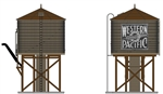 Broadway Ltd Building_Western Pacific_WP_Water Tower-brown_BLI6147_O Scale