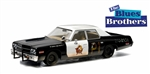 Greenlight Collectibles_GLC Vehicles_1974 Dodge Monaco_1980 Blues Brothers Bluesmobile_GLC86421