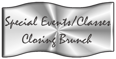 Closing Brunch (Sunday)