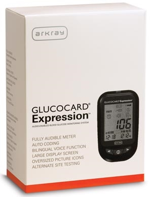 ARKRAY GLUCCOCARD® EXPRESSION™ TEST STRIPS