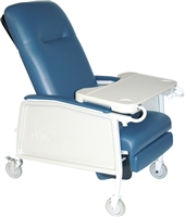 3 POSITION RECLINER, BLUE