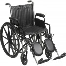 "20"" Silver Sport 2 WheelChair"