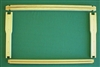 "Wooden Frames full depth 5/8"" bottom bar 1-99"