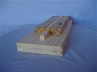 Solid Pine Bottom Board 8 frame complete