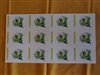 Bee in Flower Labels sheet of 12