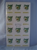 Bee in Flower Labels pack of 250
