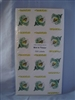 Bee in Flower Labels pack of 500